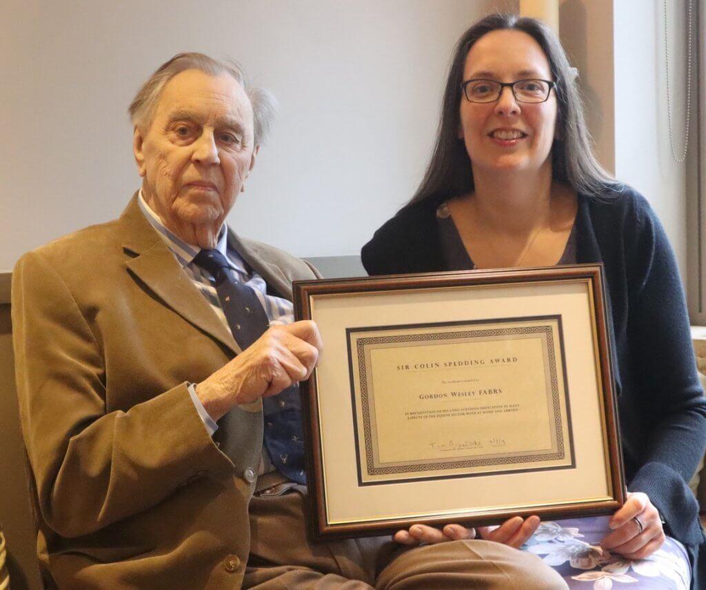 Gordon Wesley Receives NEF Award