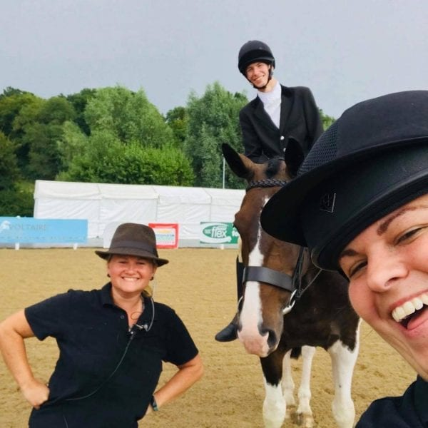 Jo Alderton-Whitworth Para Dressage Coach and International Groom