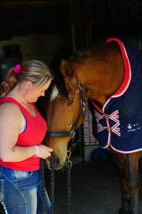 Jo Alderton-Whitworth with Paralympic Horse Rio (Janeiro 6)