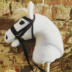 White Horse Head Soft Toy